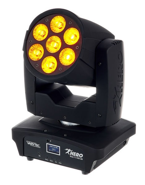 Varytec Hero Wash 715 HEX LED